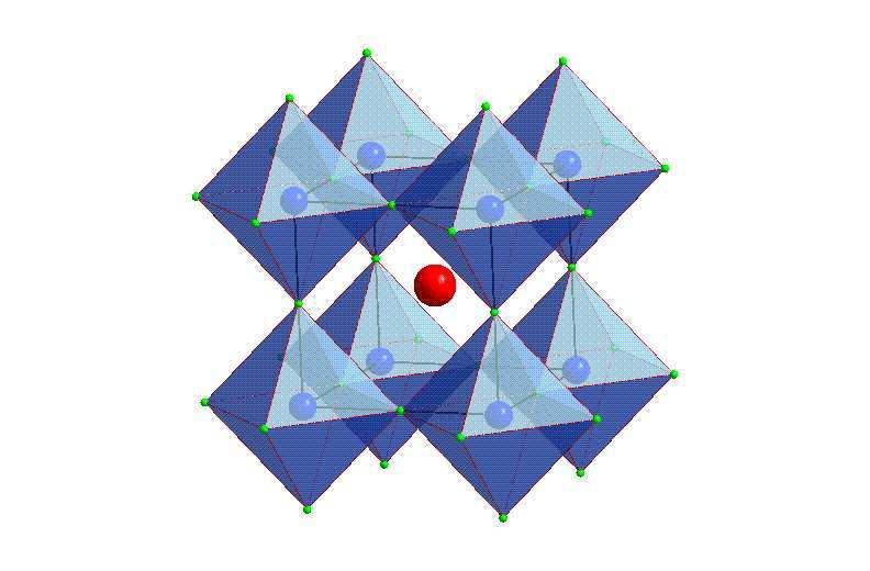 Anion Octahedron Tilt. Cation displacement is found in many compounds, especially in ferroelectric materials. Octahedron distortion occurs in magnetic perovskites.