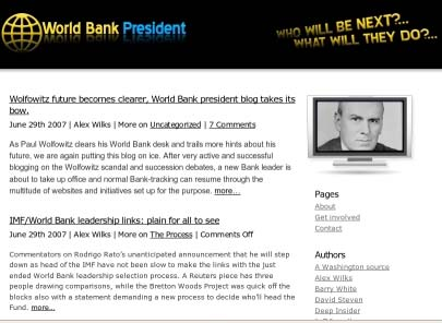 World Bank President <www.worldbankpresident.
