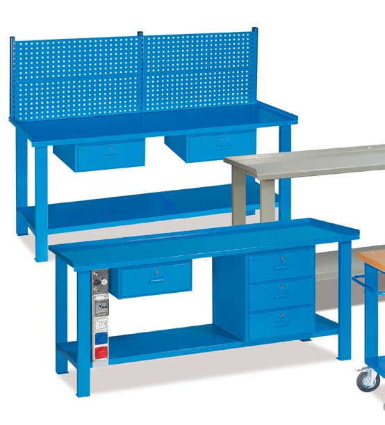 Banchi da lavoro serie MG / Workbenches MG