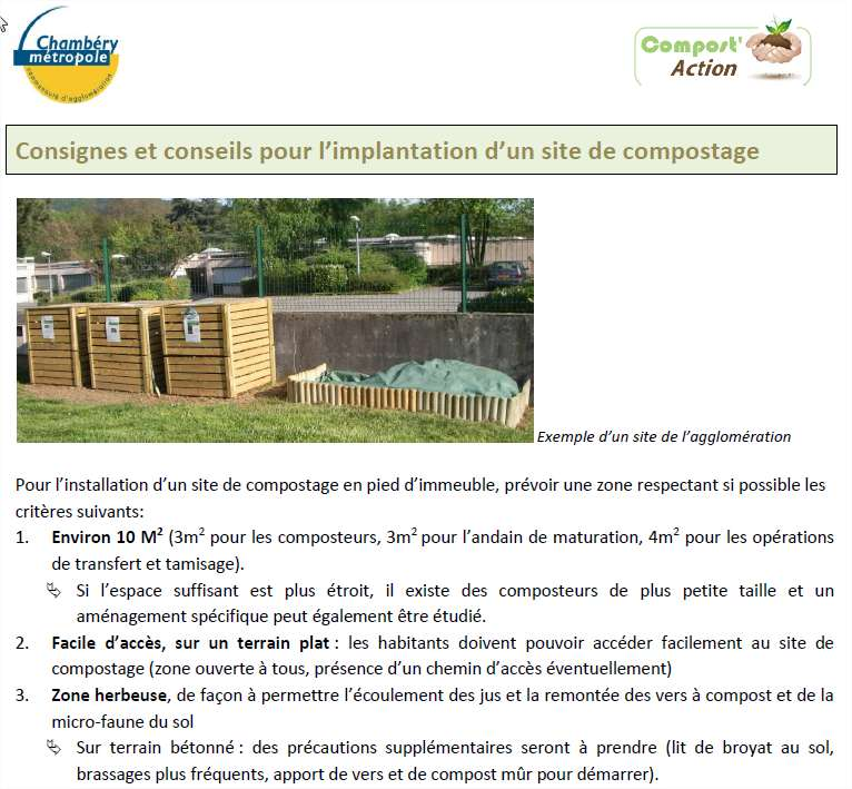 ANNEXE 5 Fiche de l association Compost Action