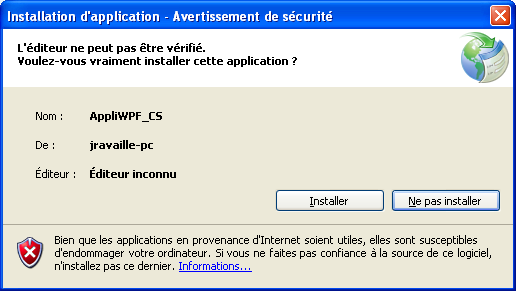 21 Déployer une application cliente avec le Framework.NET 3.