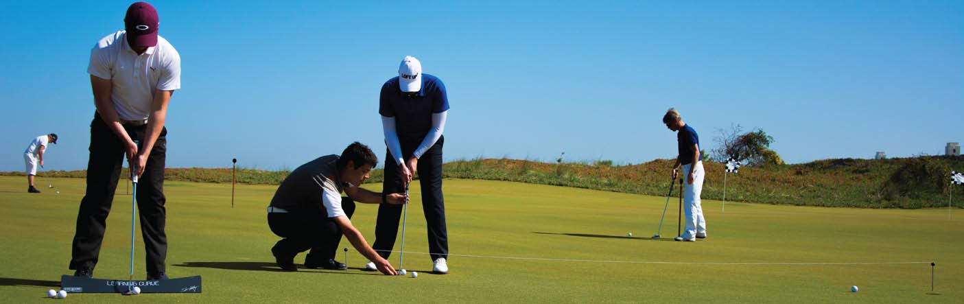 Golf Academy : découverte et performances Initiation ou perfectionnement, l Académie du Mazagan Golf Club ajuste son