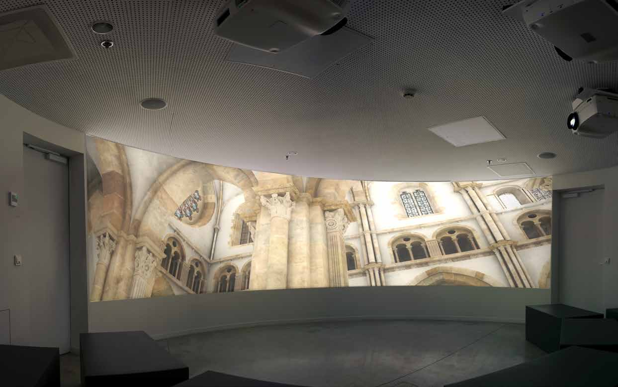 Bulle d immersion du Louvre Lens -