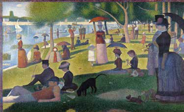 La Grande Jatte (1884-1886) - Georges Seurat Art Institut of Chicago page