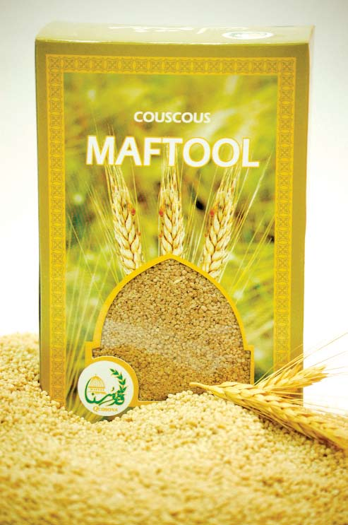 Ingredients: Wheat, salt and water Preparing Couscous (4 persons) Components: 500 gm of Couscous 2.