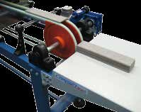 BULLNOSE GLAZING LINE Bullnose glazing line made of nr 1 inox steel cabin which can contain 1 or 2