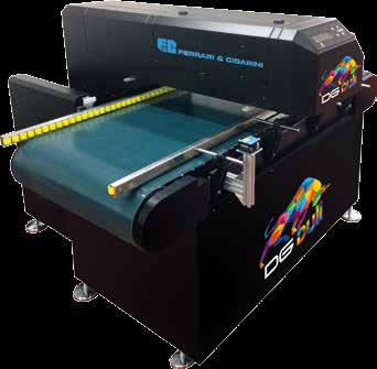 DGbull Stampante Inkjet per la decorazione digitale di battiscopa Inkjet printer for bullnose digital decoration Machine de marquage à encre pour la décoration digital des plinthes Impresora inkjet!