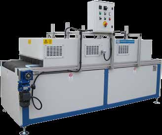3000 and width mm 700. Thermical power kw 6. Installed electric power kw 2,5 400V-50Hz.