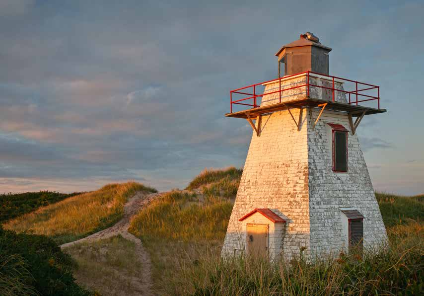 Photo: Stephen DesRoches Photography A local group has petitioned for ownership of St. Peter s Harbour Lighthouse (1881), inactive since 2008.