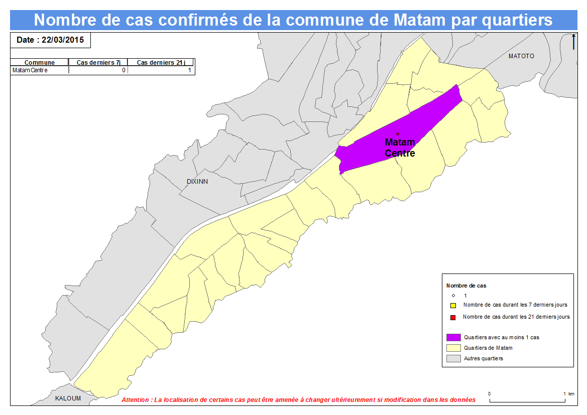 1_14 2_14 3_14 4_14 5_14 6_14 7_14 8_14 9_14 1_14 11_14 2_14 3_14 4_14 5_14 1 Nombre de cas Indicateurs par commune : Matam a.