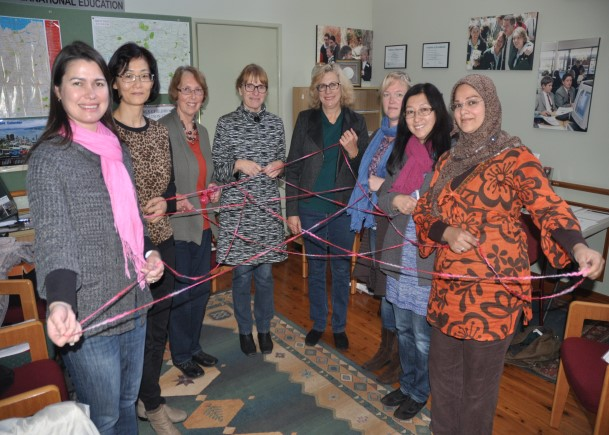 It was initiated by a request from Valerie Tikkanen in Sweden, coordinated by Birte CoP women In Denmark puts peace into practice A CoP Circle was completed in Copenhagen, shortly before Christmas