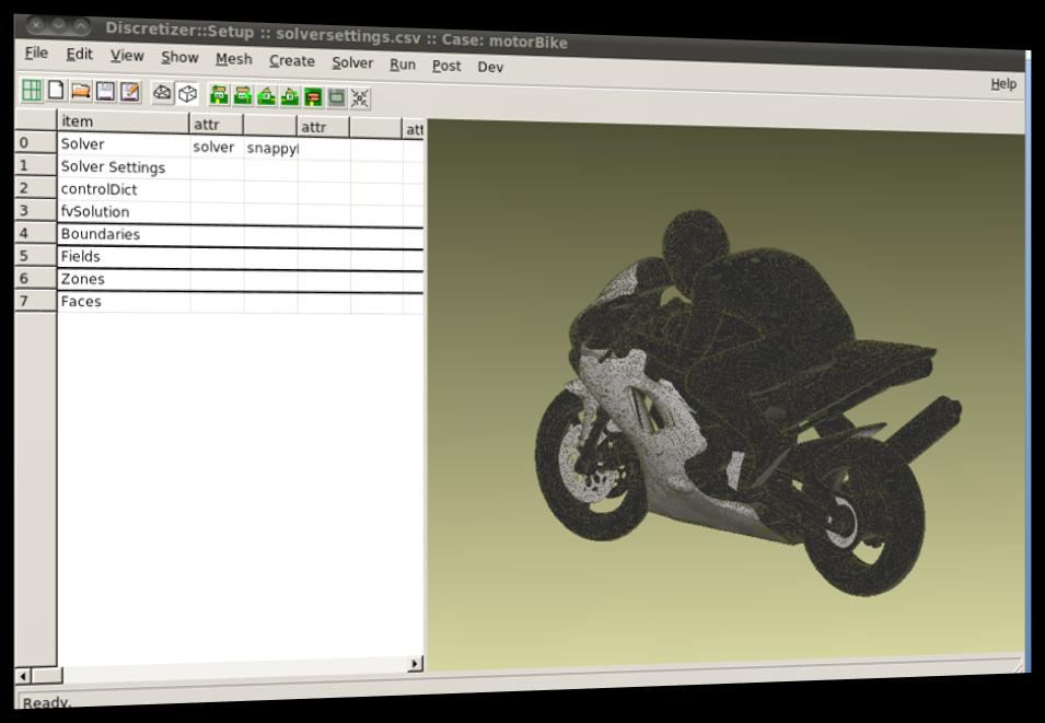 Exemple: Discretizer::Setup SnappyHexMesh - OpenFOAM -
