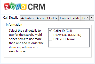Mitel Phone Manager 4.2 Caller ID represents either the caller ID for inbound calls or the dialled number for outbound calls.