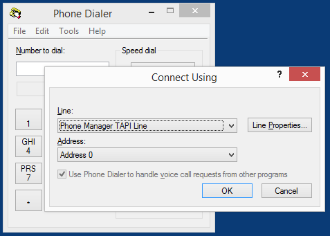 Mitel Phone Manager 4.2 4. Click Close. The TAPI driver is now ready to use. 5. To test the TAPI driver using Windows Phone Dialer, select Start -> Run -> dialer 6.