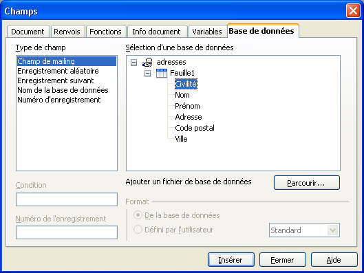 Comment faire des cartes de visite avec open office - Comment faire un publipostage sur open office ...