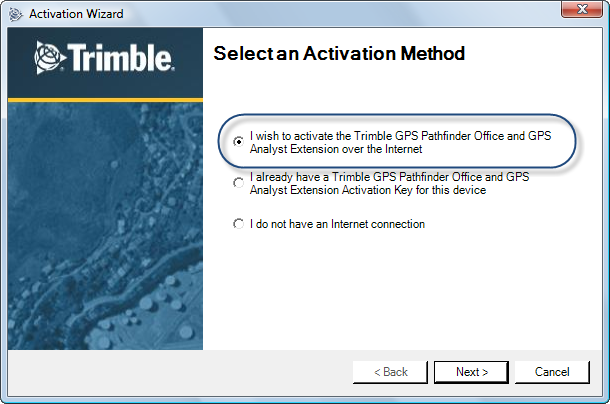 3.2 Installation de GPS Pathfinder Office en licence flottante TerraSync / GPS Pathfinder Office 3.