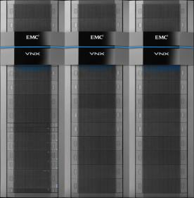 Le stockage Tirer parti du leader du stockage enterprise storage EMC VNX Unified Storage VNX 5200, 5400, 5600, 5800, 7600, and 8000 FAST VP 8Gb Fibre Channel Flash technology VMAX, including VMAX3