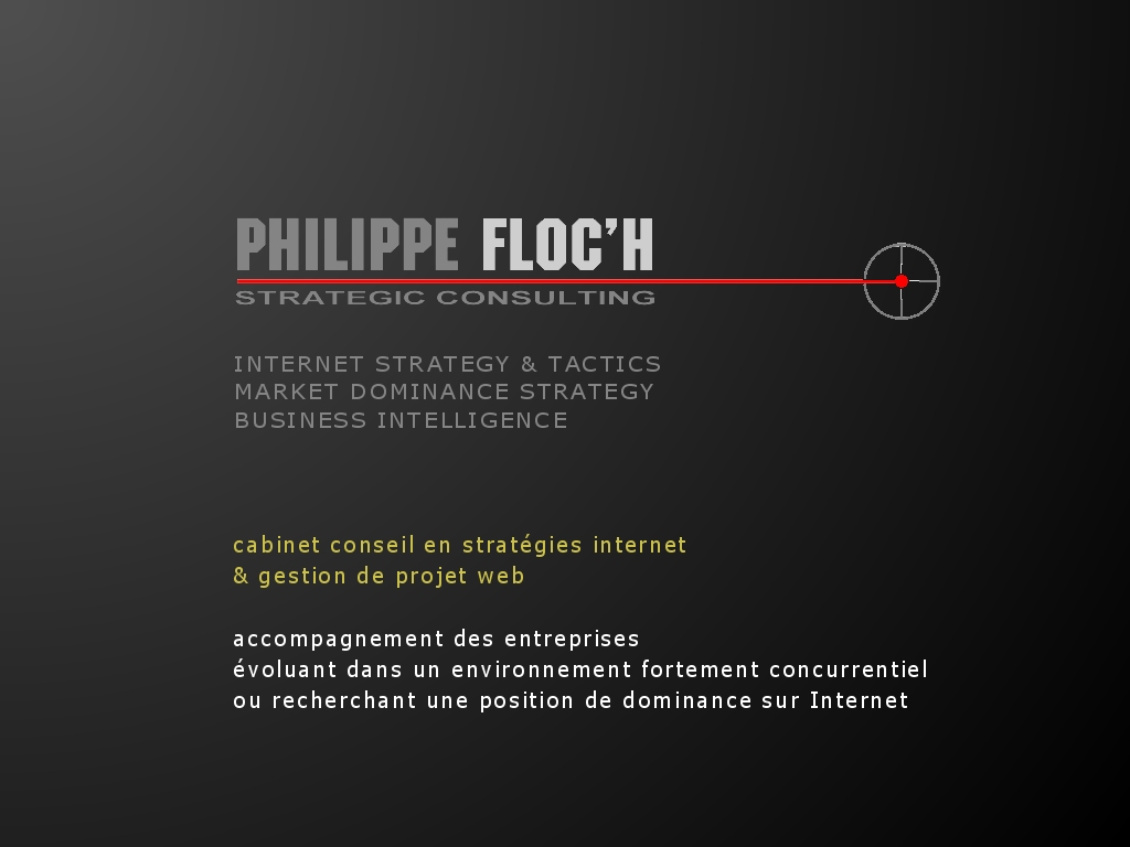 2004-2008 Philippe FLOC H Strategic Consulting Tous droits