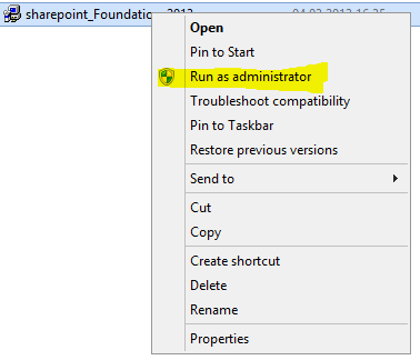 Installation de SharePoint Foundation 2013 sur Windows 2012 SharePoint 2013 est maintenant disponible et peut de ce fait être installé sur des environnements de production.