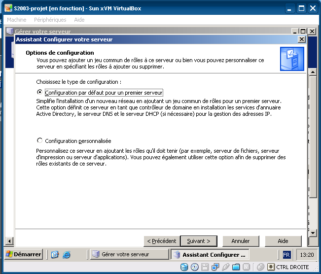 IV. Serveur Principal Windows 200