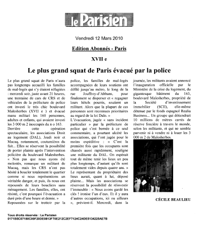 Document 2 : Le traitement médiatique de l