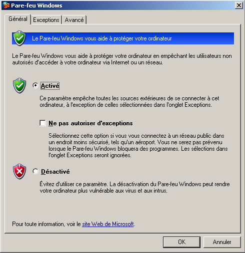 4.2 Configuration du WebNavigator Server 5.
