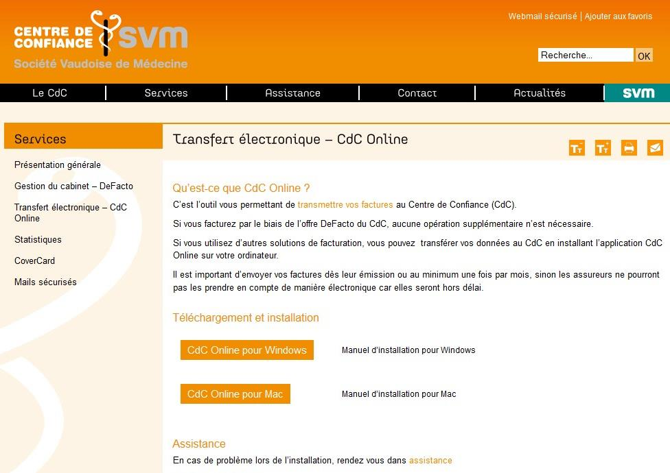 Manuel de l application cdc online pour windows table for Sur la table application