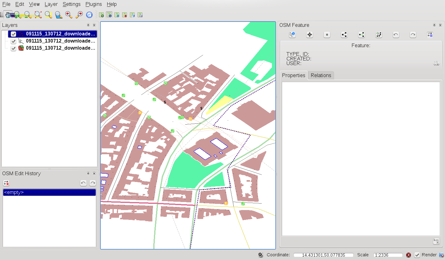 16.3 Installation The OpenStreetMap plugin is a core plugin inside QGIS. The OpenStreetMap plugin can be selected in the Plugin Manager as described in section Activer une extension principale. 16.