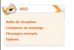 Messagerie interne Message à un