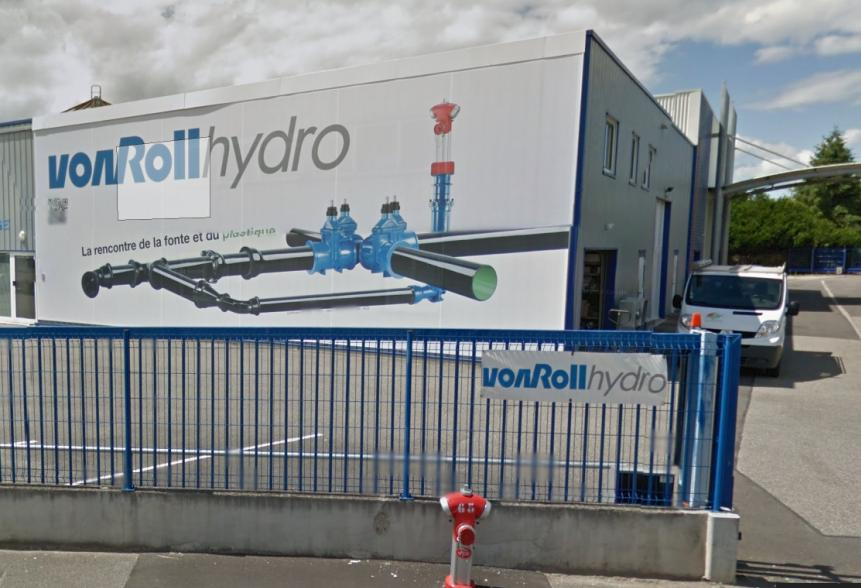 VONROLL HYDRO FRANCE 22 personnes Une