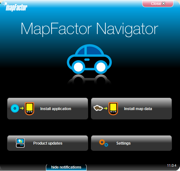 Installation du Pocket Navigator