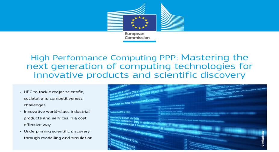 European Technology Platform on High-Performance Computing (ETP4HPC - 2012) and Strategic Research Agenda on HPC