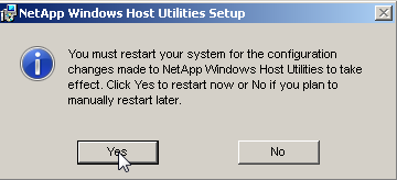 15.4.2 Installation de Windows Host Utilities Kit Les Windows Host Utilities (WHU) permettent de configurer finement l OS pour mieux utiliser les baies NetApp.