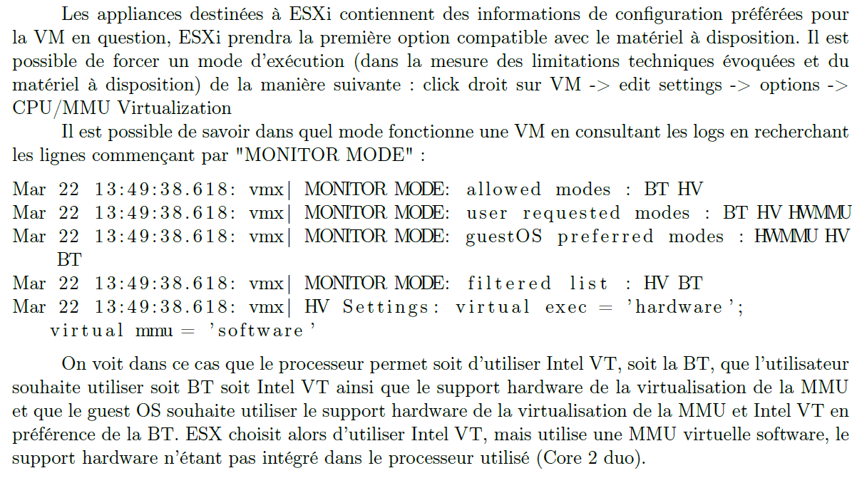 vmxon activates VT mode (BIOS) VM Entry transition from VMM to Guest - Enters VMX non-root operation - Loads Guest state from VMCS - vmlaunch instruction used on initial entry - vmresume instruction