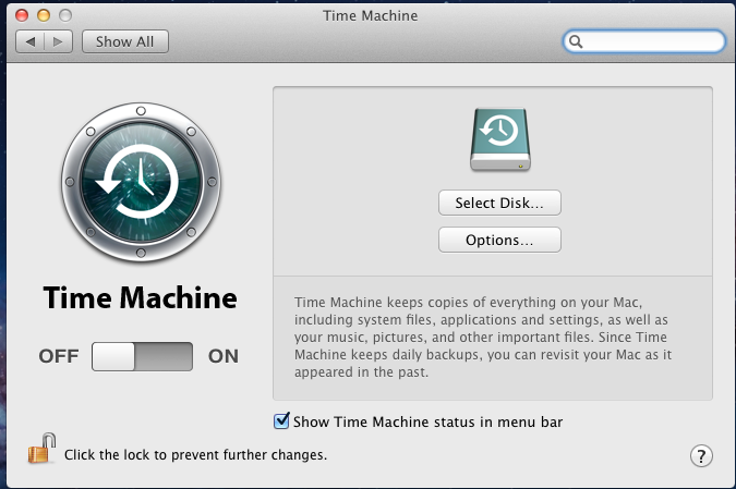 Time Machine will create a full backup after waiting two minutes. It will then create a one hour incremental backup for the next 24 hours, and then one backup each day, each week and each month.