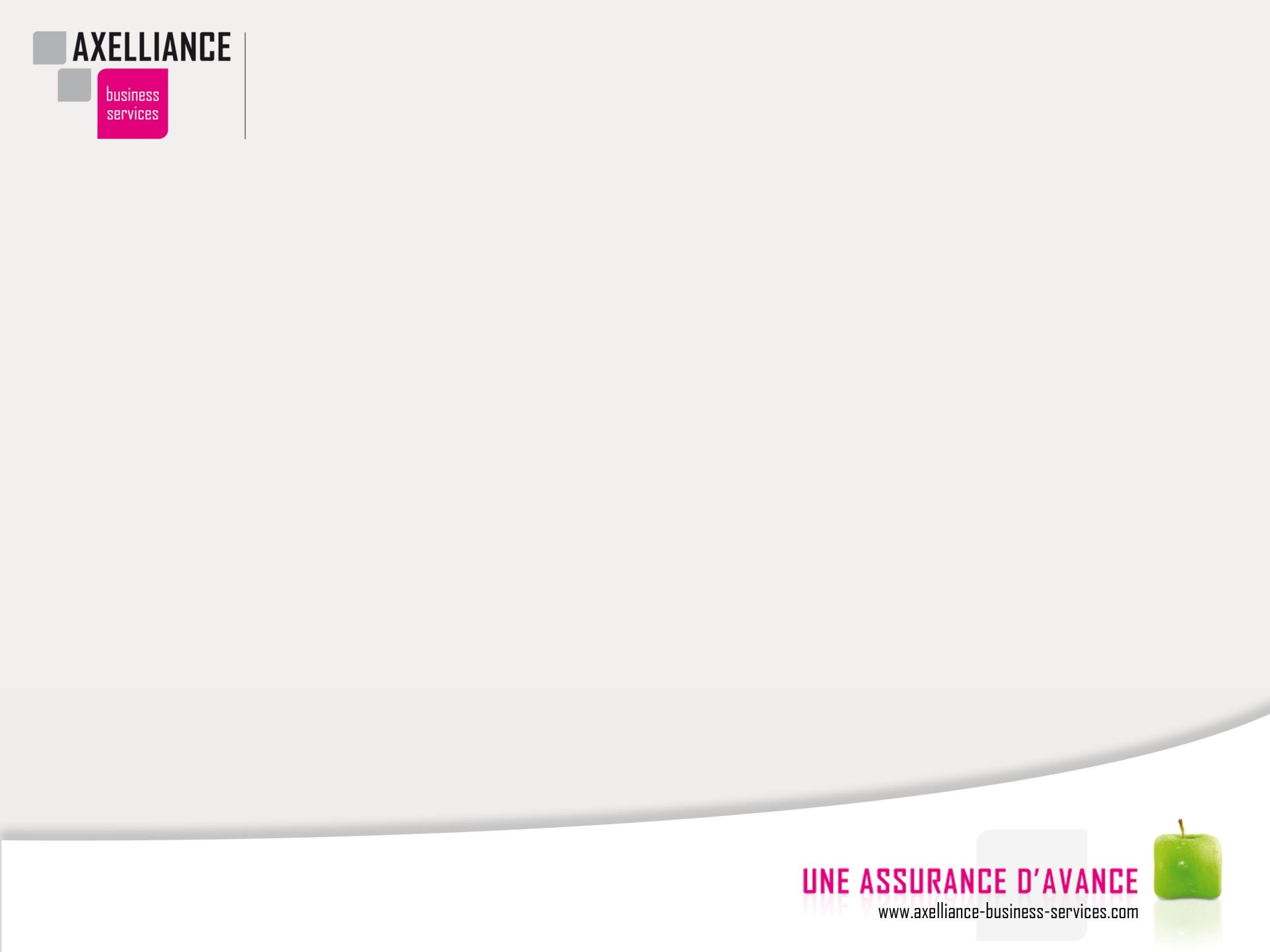 Cmment suscrire COMPLETER LE QUESTIONNAIRE dispnible sur le site d AXELLIANCE : http://axelliance-risk.