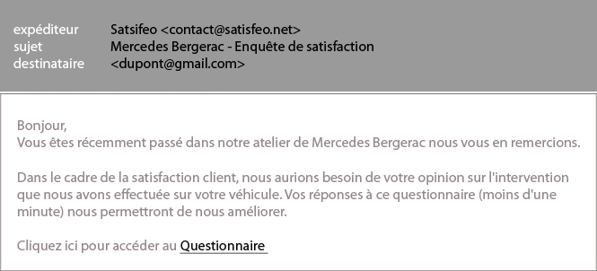 ZOOM Etude de cas Bonne pratique #5 : mesurer la satisfaction client & corriger les motifs d insatisfaction Comment la concession Mercedes a augmenté son taux de satisfaction client?