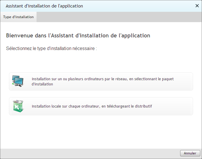 M A N U E L DE L ' U T I L I S A T E U R INSTALLATION MANUELLE DE L'APPLICATION ANTIVIRUS Pour installer l'application antivirus à la main, procédez comme suit : 1.