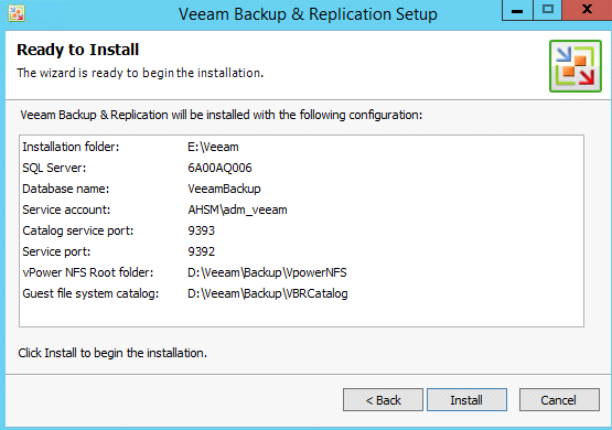 Dossier Backup Repository situé à sur le disque dur DATA (D:\Veeam\Backup\backup) Suppression du backup repository par défaut.