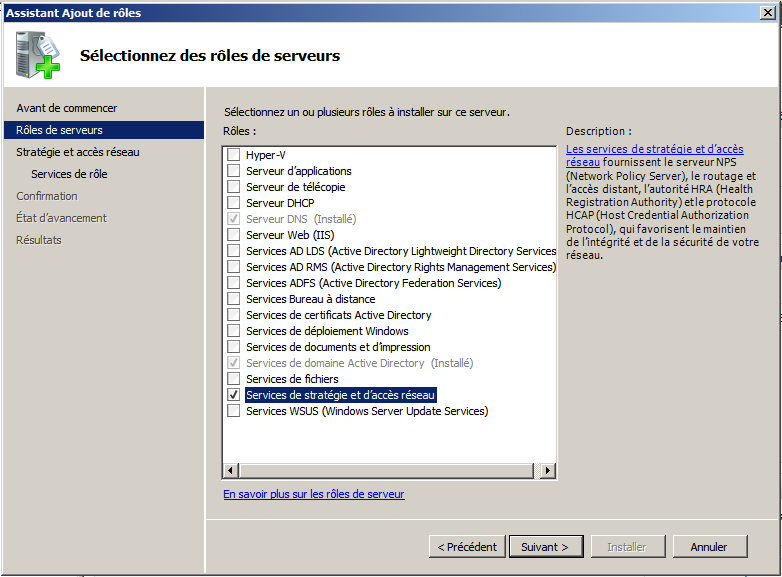 CONFIGURATION D UN SERVEUR MICROSOFT WINDOWS 2008 R2 : CREATION D UN GROUPE ET D UN UTILISATEUR DANS ACTIVE DIRECTORY (WINDOWS SERVER 2008) : Sur le serveur Windows 2008, aller dans le menu