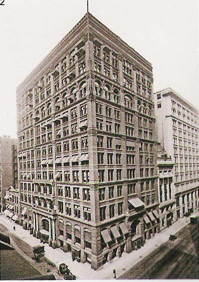 Home Insurance Building, Chicago,