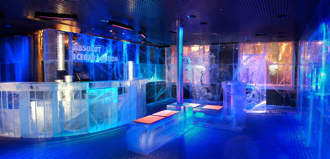 Ice Bar Londres /