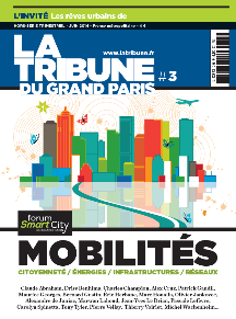 des 2 grands forums parisiens organisés par La Tribune 2ème Forum Smart City - Octobre 2015 1 page dans un