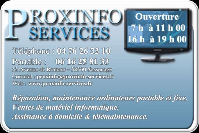 PROXINFO-SERVICES 2010 www.
