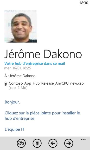 site web (par exemple SharePoint)
