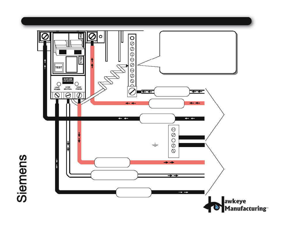 5 Electrical Wiring Seimens Diagram 240V GCFI SPA WIRING DIAGRAM FOR CERTIFIED ELECTRICIANS REFERENCE ONLY IMPORTANT: The white neutral wire from the back of the CFGI MUST be connected to an incoming