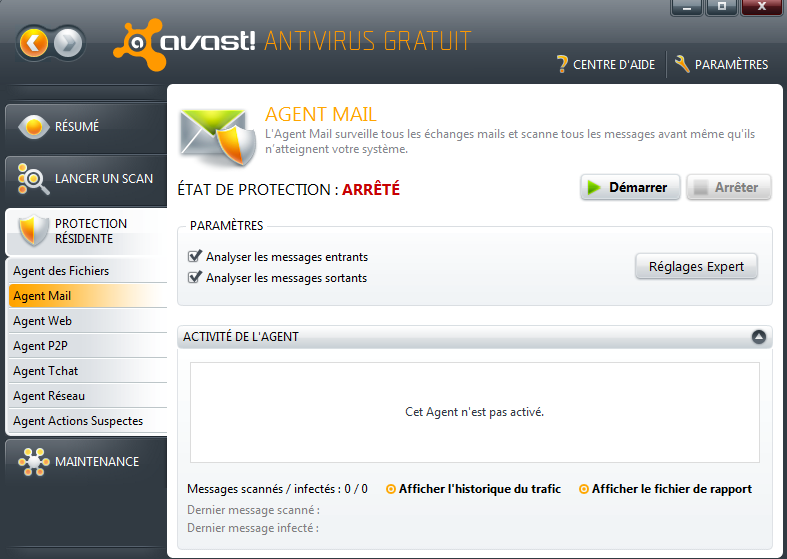 Serveur IceWarp - guide d'installation du connecteur Outlook 4 4 Avast 4.