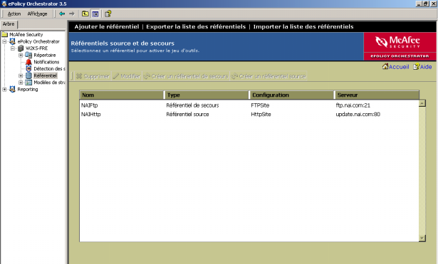 Guide d installation d epolicy Orchestrator 3.
