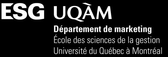 PLAN DE COURS ADM996B Groupe 10 Du marketing inter-organisationnel au marketing relationnel Hiver 2014 Professeur: Harold Boeck, Ph.D. Courriel : Boeck.Harold@uqam.