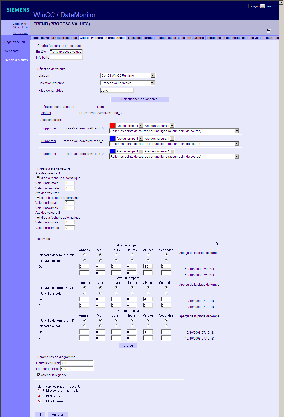 WinCC/DataMonitor Documentation 4.